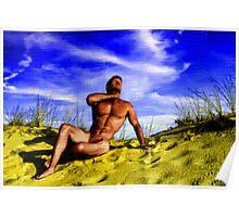 Dune Nude Hunk Poster