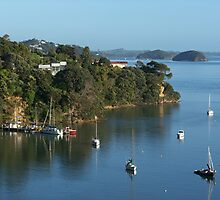 The small historic port of Opua...........! by Roy  Massicks