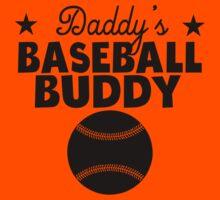 Daddy's Baseball Buddy Kids Tee