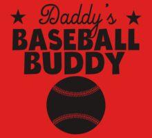 Daddy's Baseball Buddy One Piece - Long Sleeve