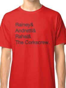 Laguna Seca Typography Classic T-Shirt