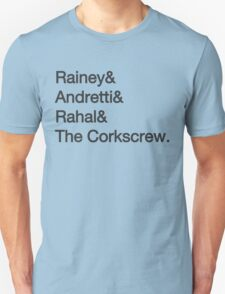 Laguna Seca Typography T-Shirt