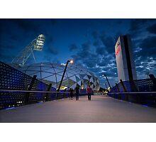 AAMI Park Stadium Photographic Print
