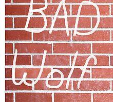 BAD WOLF by billiamginger