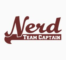 Nerd Team Captain by RdwnggrlDesigns