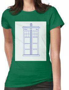 Tardis Shirt Womens Fitted T-Shirt