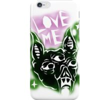 LUV ME BAT :-( iPhone Case/Skin