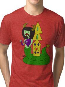 Snake Lady  Tri-blend T-Shirt