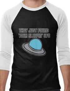 Bleepin UFO Men's Baseball ¾ T-Shirt