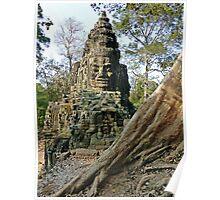 Angkor Thom Entrance Poster