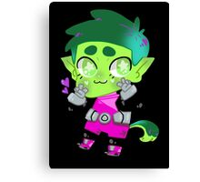 Teen Titans || Beast Boy Canvas Print