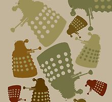 Doctor Who - DALEK Camouflage by kinxx