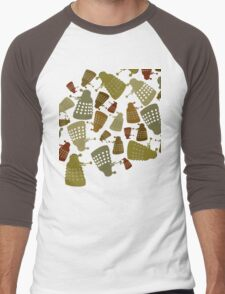 Doctor Who - DALEK Camouflage Men's Baseball ¾ T-Shirt
