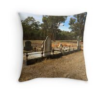 Toolamba cemetery Throw Pillow