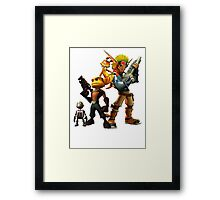 Jak & Dexter and Ratchet & Clank Framed Print