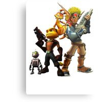 Jak & Dexter and Ratchet & Clank Metal Print