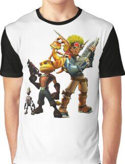 Jak & Dexter and Ratchet & Clank Graphic T-Shirt
