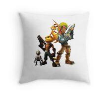 Jak & Dexter and Ratchet & Clank Throw Pillow