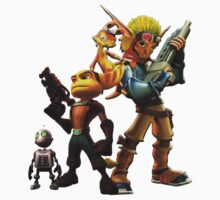 Jak & Dexter and Ratchet & Clank by CataRedBubble