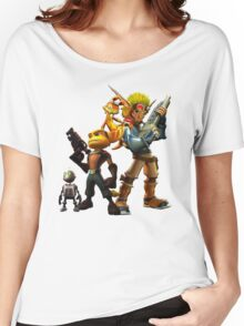 Jak & Dexter and Ratchet & Clank Women's Relaxed Fit T-Shirt
