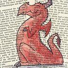 red dragon by GardenDragon