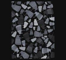 50 Shades of Grey Daleks - Doctor Who - DALEK Camouflage Kids Clothes