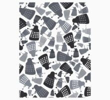 50 Shades of Grey Daleks - Doctor Who - DALEK Camouflage Kids Clothes