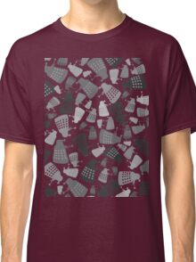 50 Shades of Grey Daleks - Doctor Who - DALEK Camouflage Classic T-Shirt