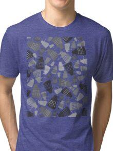 50 Shades of Grey Daleks - Doctor Who - DALEK Camouflage Tri-blend T-Shirt