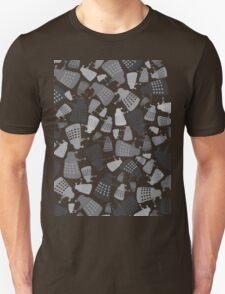 50 Shades of Grey Daleks - Doctor Who - DALEK Camouflage Unisex T-Shirt