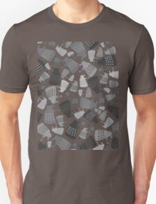 50 Shades of Grey Daleks - Doctor Who - DALEK Camouflage T-Shirt
