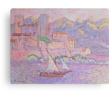 Pink Seascape Canvas Print