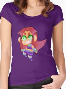 Teen Titans || Starfire Women's Fitted Scoop T-Shirt