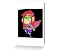 Teen Titans || Starfire Greeting Card