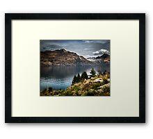 Lake Wakatipu  Framed Print