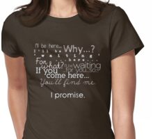 I Promise (alternate colour) Womens Fitted T-Shirt
