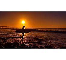 """Dawn Surfer"" Photographic Print"