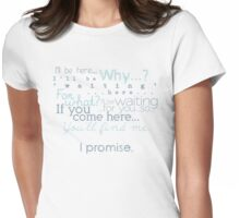 I Promise Womens Fitted T-Shirt
