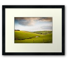 Western fleurieu peninsula, Winter time Framed Print