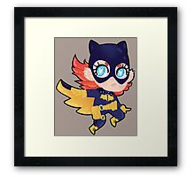 Dc Comics || Barbara Gordon/Batgirl Framed Print