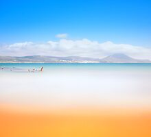 Surreal beach by Stavros
