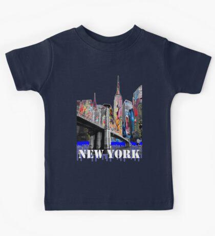 New York City Graffiti Kids Tee
