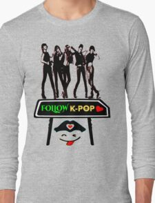 ♥♫Follow K-Pop Splendiferous K-Pop Clothing & Phone/iPad/Tablet/Laptop Cases & Stickers & Bags & Home Decor & Stationary♪♥ Long Sleeve T-Shirt