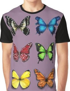 Butterflies Collection: color ur life Graphic T-Shirt