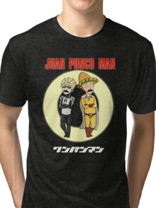 Juan Punch Man Tri-blend T-Shirt