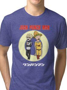 Juan Punch Man Tri-blend T-Shirt