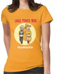Juan Punch Man Womens Fitted T-Shirt