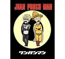 Juan Punch Man Photographic Print