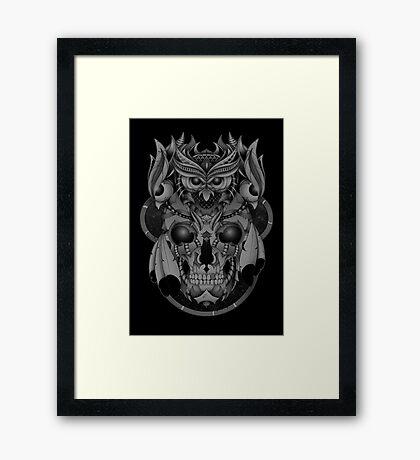Unholy Crown Framed Print