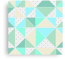 Fresh Geometry Canvas Print